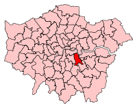 LewishamDeptford2007Constituency.svg