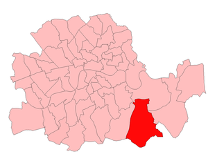 Lewisham East (UK Parliament constituency) - Lewisham East in London 1918–49