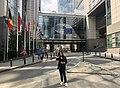 Leyla during her 1-month internship at the European Parliament.jpg