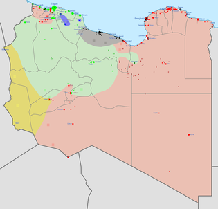 Military situation in Libya in early 2016: Ansar al-Sharia Islamic State Libyan Civil War.png