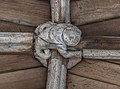 Lincoln Cathedral West Cloister, 18th boss from S. (40397091011).jpg