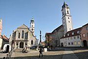 Lindau Stiftskirche und St Stephan
