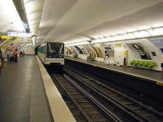 Trocadéro (Paris Métro) - Image: Linea 6 Troc