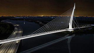 Ponte do Saber bridge in Brazil