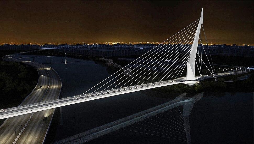 Linha Vermelha - Ponte do Saber - UFRJ