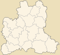 Dankov is located in Lipetsk oblast