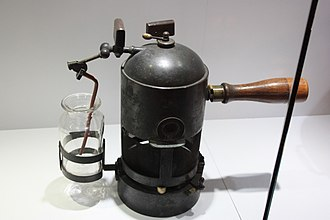 Joseph Lister - Lister's carbolic steam spray apparatus, Hunterian Museum, Glasgow