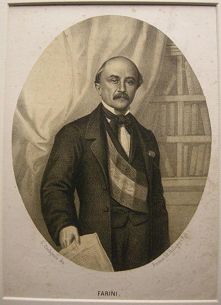 File:Litografia ballagny, fine XIX sec. luigi carlo farini.JPG