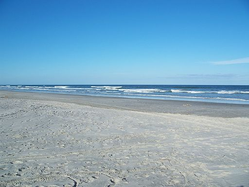 Little Talbot Island SP beach01