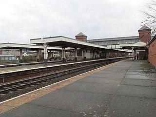 Llandudno Junction railway station Railway station in Conwy, Wales