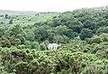 Llwyncoed Farmhouse from the shores of Llyn Padarn - geograph.org.uk - 480649.jpg