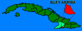 Localización de Buey Arriba en Cuba.png