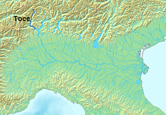 Toce - Image: Location Toce River