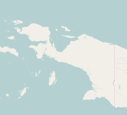 Manokwari is located in Western New Guinea