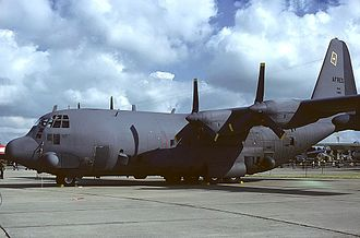 711th Special Operations Squadron - 711th Lockheed AC-130A Hercules on display at Eglin AFB.  This is the first Hercules built