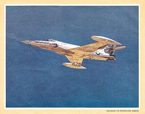 Lockheed XF-90 - Image: Lockheed F 90