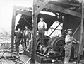 Logging crew and donkey engine, The Eufaula Company, ca 1921 (KINSEY 86).jpeg