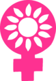 Logo of the Norwegian Association for Women's Rights (without text).png