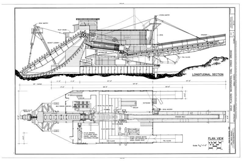 Wing Gold >> File:Longitudinal Section, Plan View - Gold Placers ...