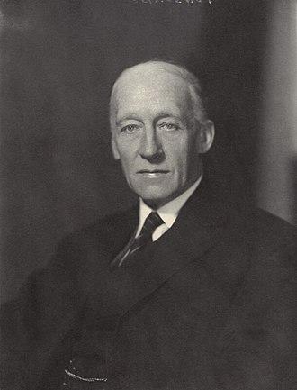 Arthur Ponsonby, 1st Baron Ponsonby of Shulbrede - Image: Lord Ponsonby