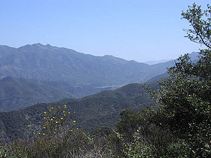 California chaparral and woodlands - Image: Los Padres S