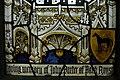 Lowest part of stained glass window in memory of John Porter, Kingsclere.jpg