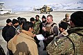 Lt. Col. John Conmy, a pilot with the 438th Air Expeditionary Advisory Squadron, conducts a briefing with Afghan counterparts at Fayzaba.jpg
