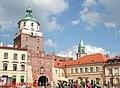 Lublin, Poland - Plac Łokietka ^ Brama Krakowska - panoramio.jpg