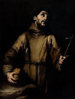 San Francesco d'Assisi, opera di Luca Giordano, XVII sec.