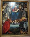 Luca signorelli e bottega, madonna col bambino in gloria e santi, 1518-19, 01.JPG
