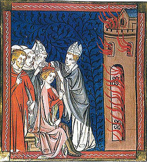 Coronation of Richard Lionheart, King of Engla...