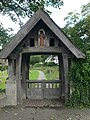 Lych Gate, St Cynbryd's Church, Llanddulas. - geograph.org.uk - 479440.jpg
