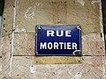 Lyon 3e - Rue Mortier - Plaque (janv 2019).jpg