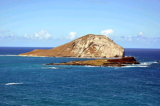 Mānana - Mānana Island as seen from Oahu