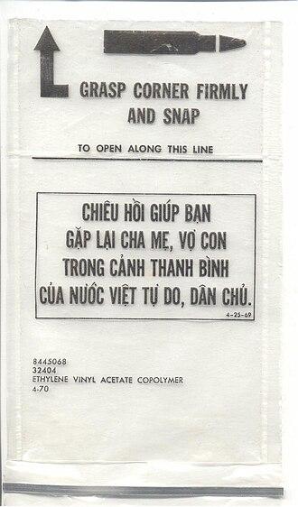 Chieu Hoi - A Chieu Hoi Bag