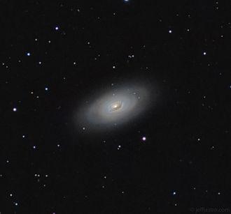 Black Eye Galaxy - Amateur image of Black Eye Galaxy (M64).
