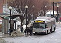 MBTA route SL5 bus at Herald Street, March 2015.JPG