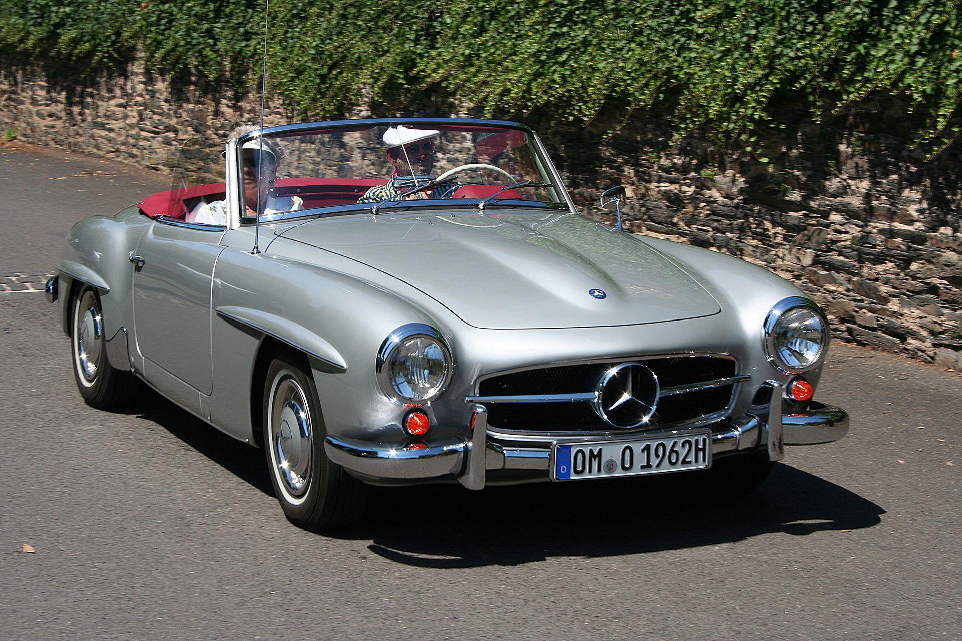 Mercedes benz 190 sl wikipedia for Mercedes benz wiki