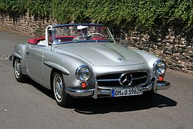 Mercedes benz 190 sl wikipedia mercedes benz 190 sl sciox Gallery