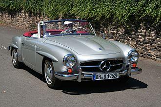 Mercedes-Benz 190 SL - Image: MB 190 SL am 2006 07 16 (ret kl)