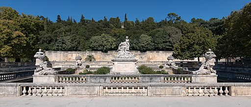 MK54107 Jardins de la Fontaine (Nîmes)