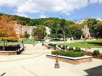 Morehead State University - Fields Hall, Camden-Carroll Library, and Little Bell Tower