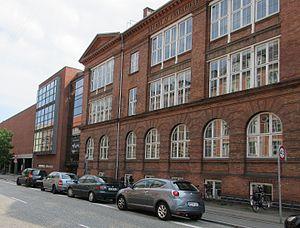 Nyelandsvej - Metropolitan UC's building on Nyelandsvej