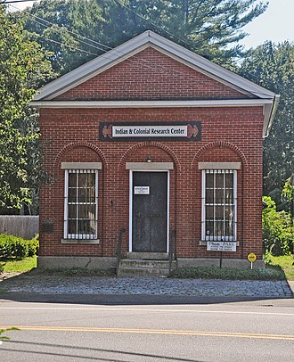 Old Mystic, Connecticut - Mystic Bank