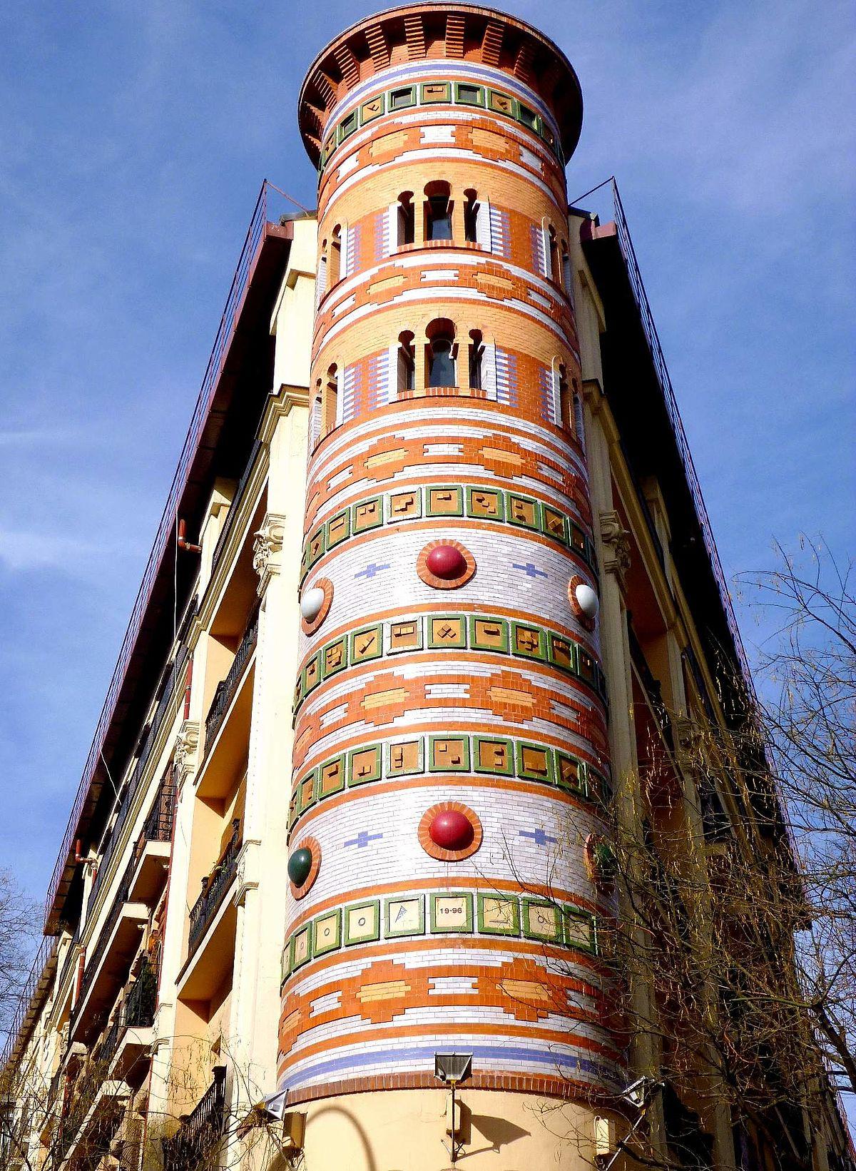 Casa de las bolas madrid wikipedia la enciclopedia libre - Canguro en casa madrid ...