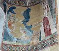 Maestro espressionista di santa chiara (forse palmerino di guido), storie francescane, san francesco regge il laterano, 1290-1310 circa.JPG