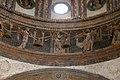 Maestro toscano (dis.) e plastifcatore lombardo, forse vincenzo foppa, angeli in stucco colorato, 02.jpg