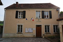 Town hall in Baulne-en-Brie
