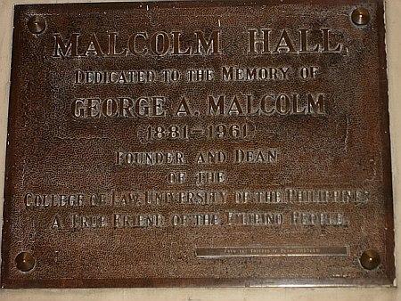 MalcolmPlaque