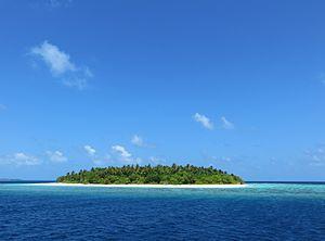 Baa Atoll - Image: Maldives island